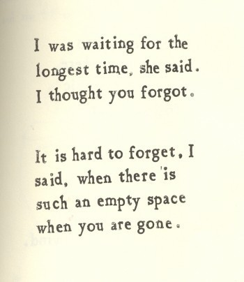Love Quote | I was waiting for the longest time