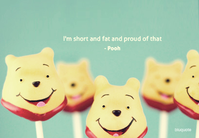 Winnie the Pooh - Cake Pops ~ Funny Quote