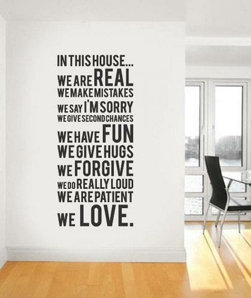 In This House - Love Quote