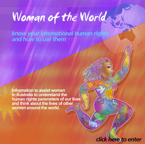 International Women's Day 2001 CEDAW