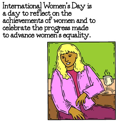 International Women's Day Celebrate