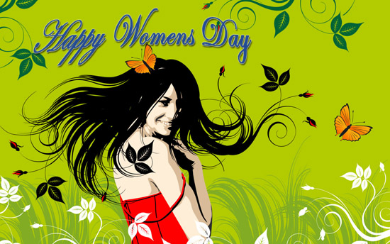 International Women's Day celebrated each year on March 8