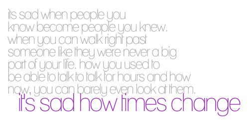 Its sad how times change