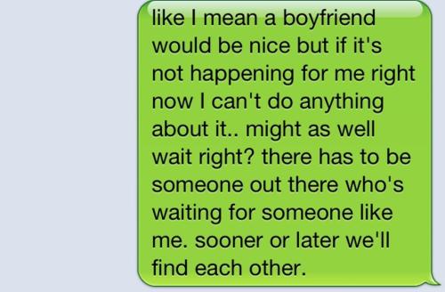 Like I mean boyfriend - Love Quote