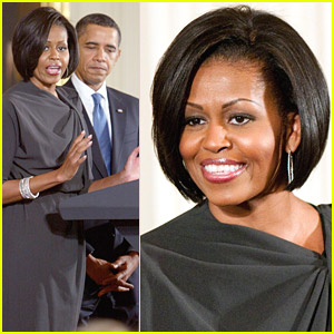 Michelle Obama Celebrates International Women's Day