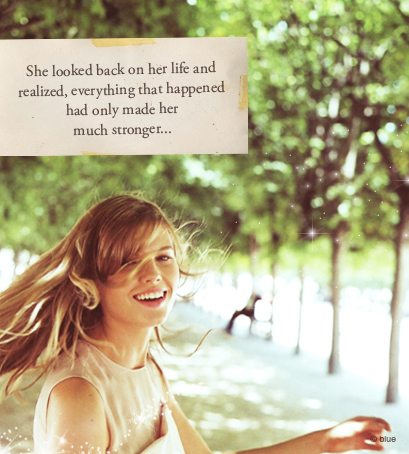 She Looked Back On Her Life And Realized. - Motivational Quote