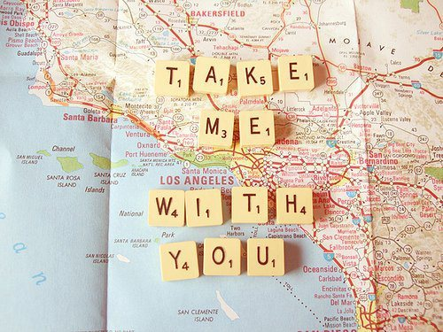 Take me With you - Life Quote