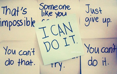 I can Do it. - Motivational Quote