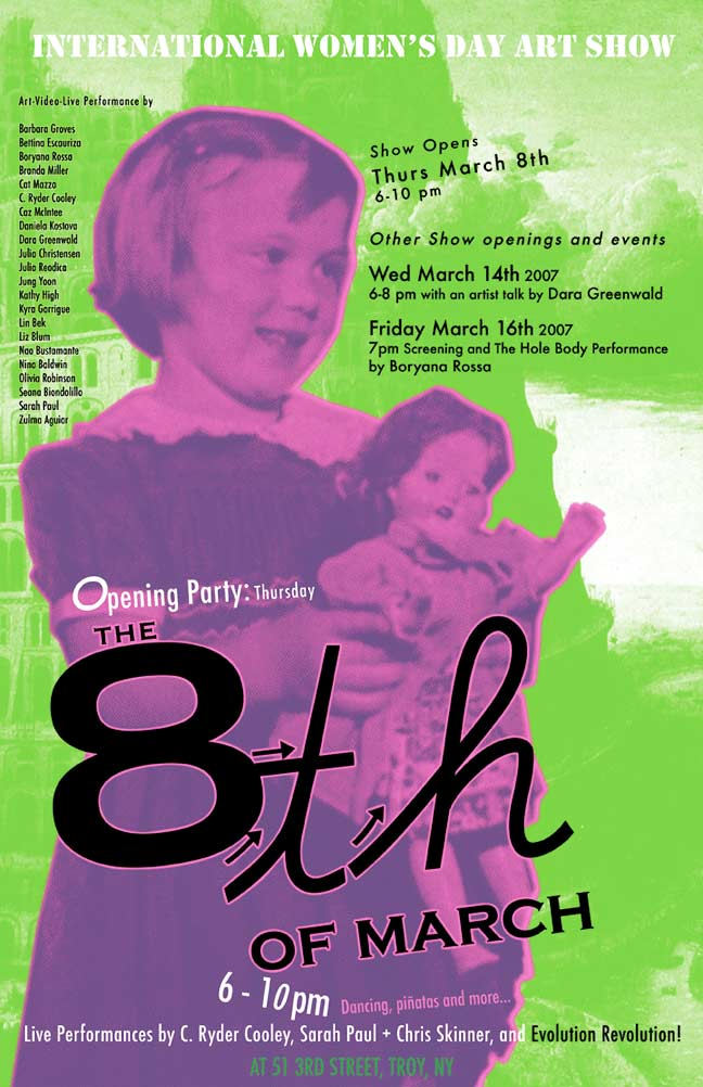 The 8th of March International Women's Day Art Show