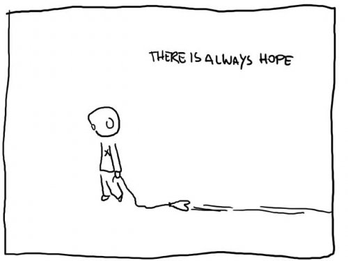 Funny Quote : There is always hope