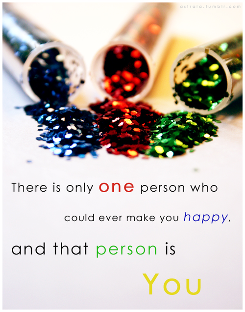 Fact Quote : 'There is only one person who could ever make you…