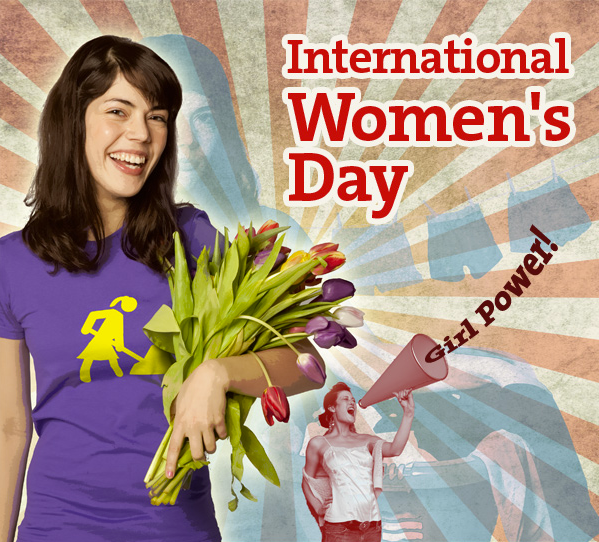 Today marks the 100th celebration of International Women's Day