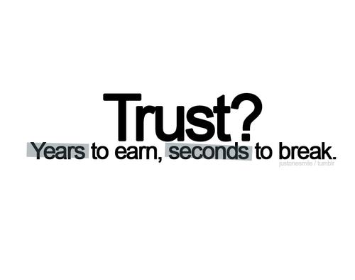 Trust? | Life Hack Quote
