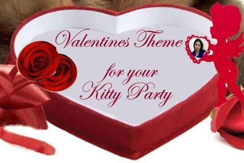 Valentine's Day Theme Kitty Party