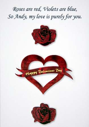 Valentines Day Poem: Card Graphic