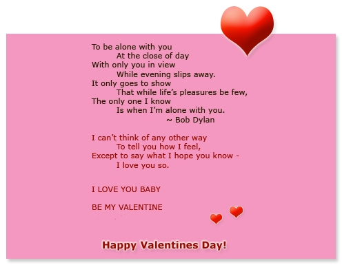 Funny Valentines  Cards  Friends on Romantic Valentines Day Poem Ecard   Graphics99 Com