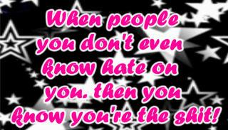 When people do not even know hate you - Hate Quote