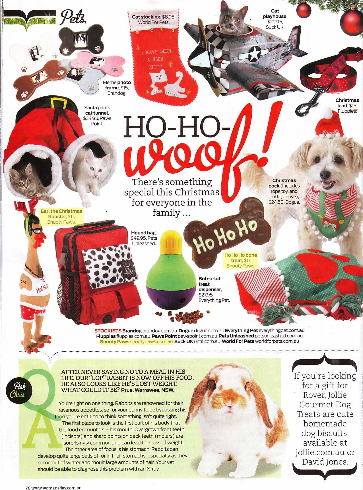 Woman's Day Magazine - December 2010