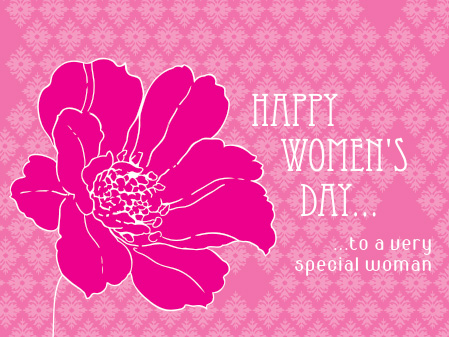 Women's Day Greeting Vector Graphic. | Graphics99.com