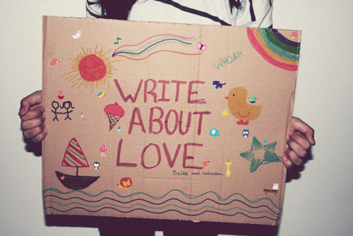 Love Quote | Write about love
