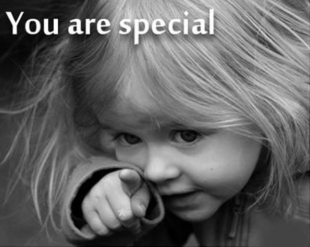 You Are Special : Compliment Quote