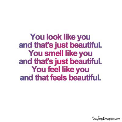 Compliment Quote : That's Just Beautiful!