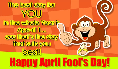 Funny April Fools Day Ecard for Facebook