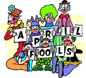 April Fool Day Clowns Ecard