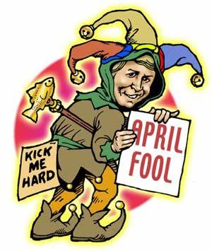 Kick Me Hard - Happy April Fool Day