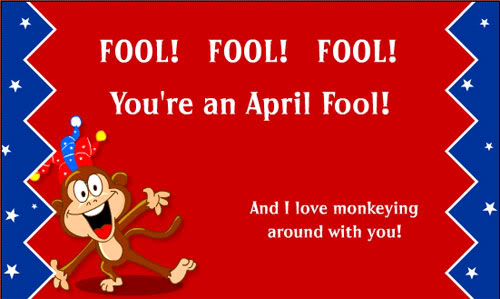 Awesome April Fools Day Greeting Card