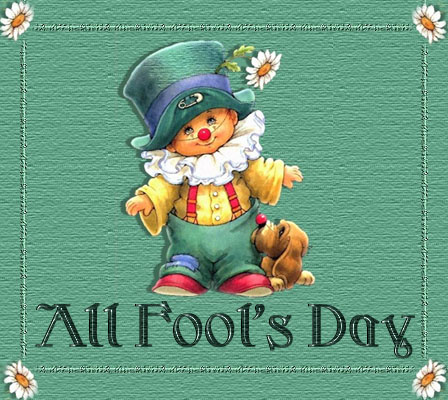 All Fools Day Greeting Card