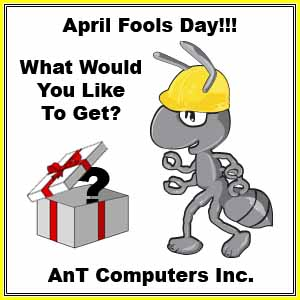 April Fools Day Funny Greeting Card