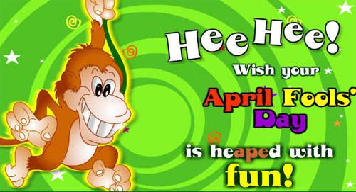 Wonderful April Fools Day Greeting Card