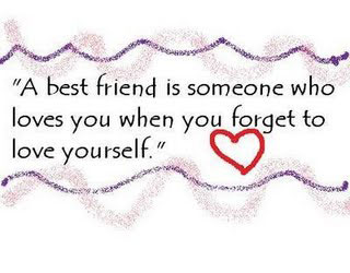 A Best Friend is Someone - Friendship Quote