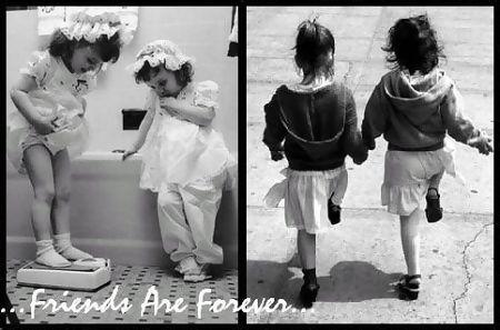 Friends since childhood