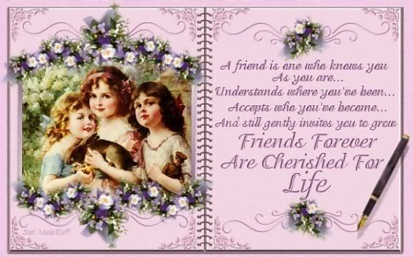 Wonderful Friends Forever Greeting Card