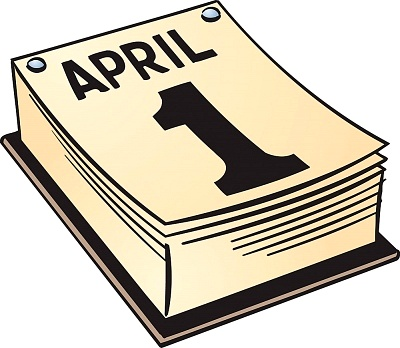 Its April 1: April Fools Day