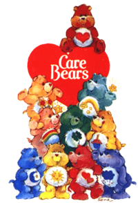 Beautiful Care Bears Photo for Fb Share