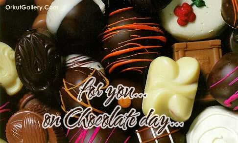 For you… on Chocolate Day…