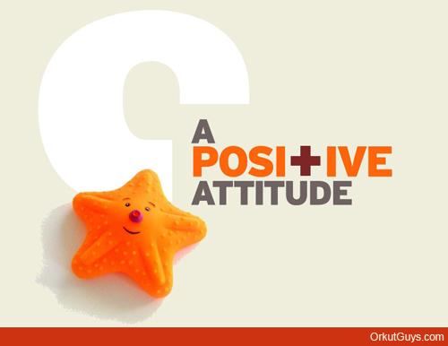 A Positive Attitude Graphic
