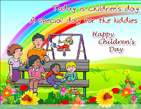 Today is Children's Day A Special day for the Kiddies Happy Children's Day