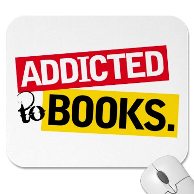 addicted to books Graphic