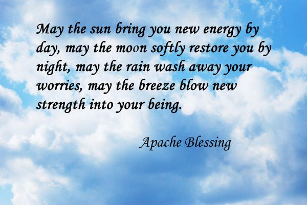 May the Sun Bring you New Anergy By Day