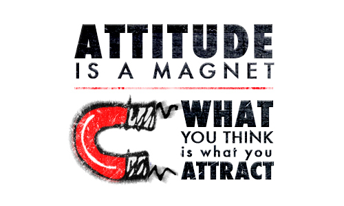 Attitude is a Magnet What you Think is What you Attract