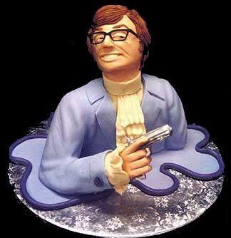 Austin Powers Cake