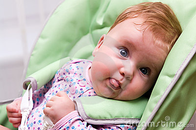 Funny Baby Face Picture
