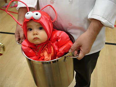 Funny Baby Lobster Halloween Costume