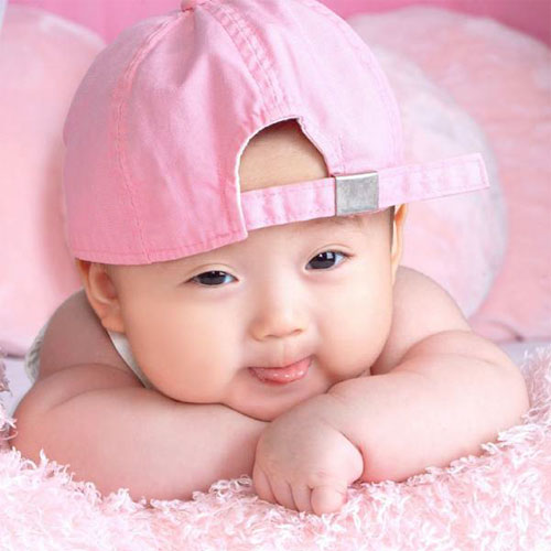 Cute Baby with Cap