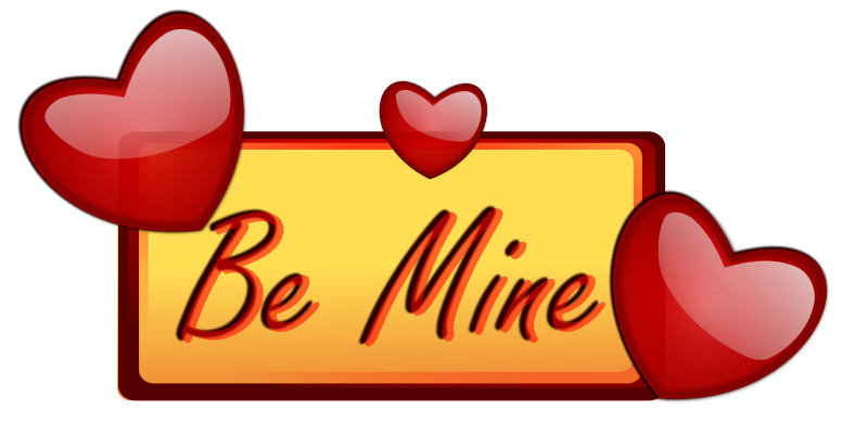 Be Mine Scrap for Orkut