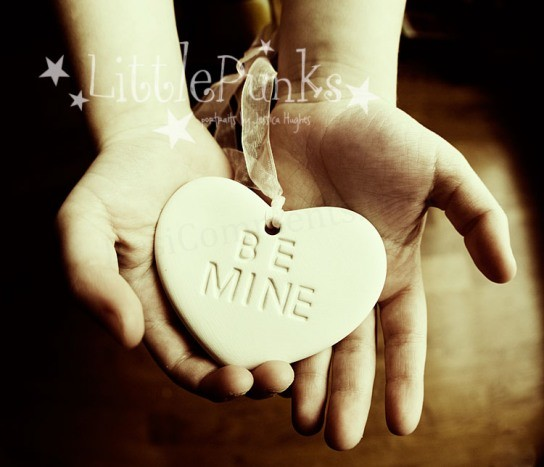 Be Mine Heart Pendant for Fb Share